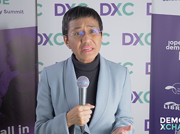 Maria Ressa: The foundation of every democracy is information
